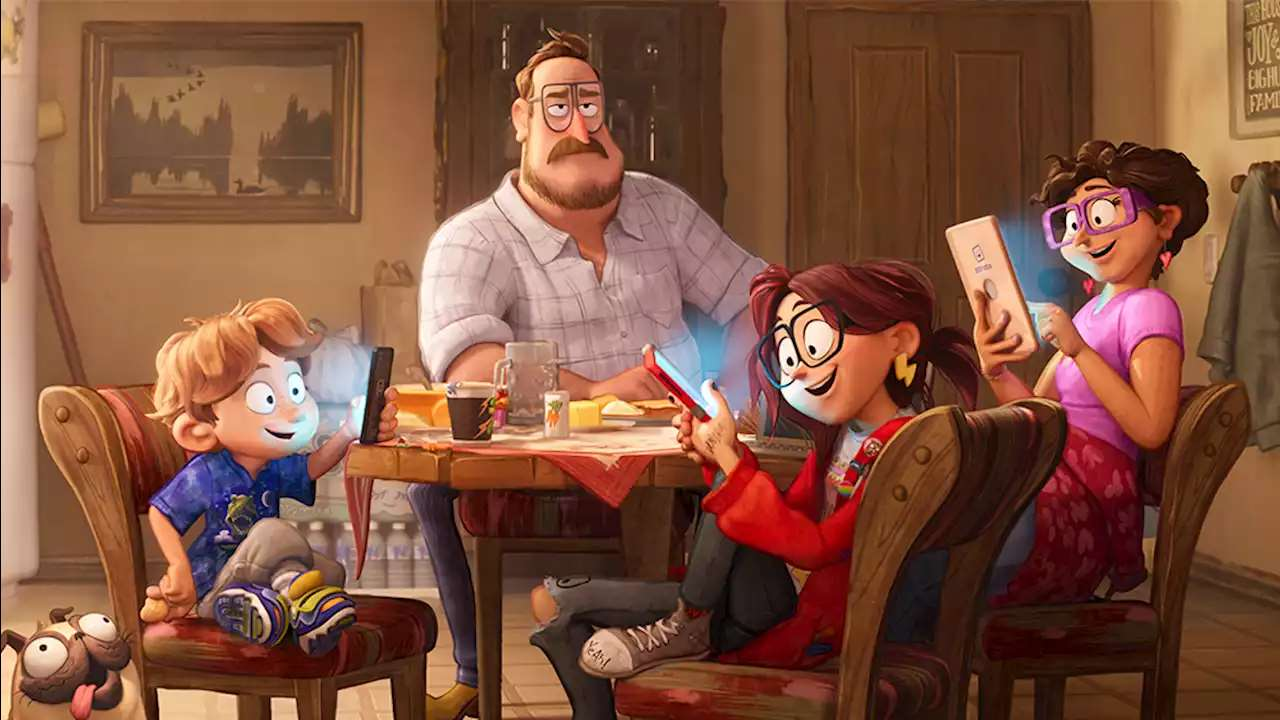 Connected' Phil Lord Chris Miller Mike Rianda On Sony Animation's Family Vs  The Machines Movie Annecy - Womanly News